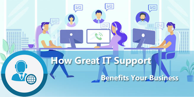 An excellent IT support helpdesk article header image by Sphere IT